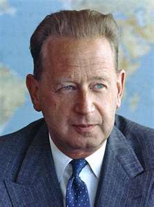 Dag Hammarskjöld, 1905-1961