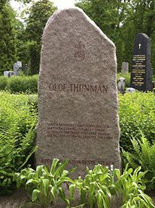 Upplandsskalden framför andra,Olof Thunman