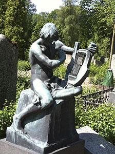 Prof. Sjöströms gravvård, konstnär: Astri Taube
