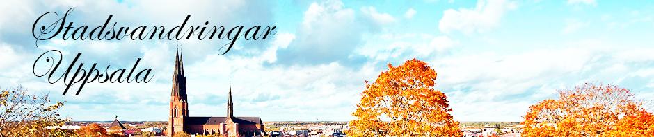 Stadsvandringar Uppsala - Din guide runt Uppsala med Lena Ahlstr�m - auktoriserad Uppsalaguide 2002, auktoriserad Pelleguide 2003 samt auktoriserad Linne�guide 2007