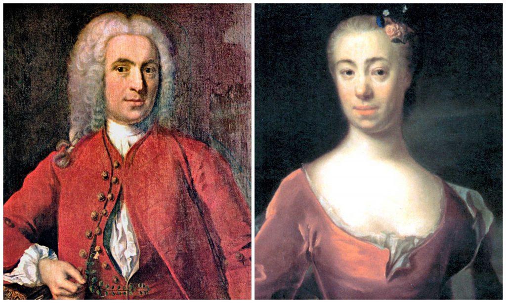 Carl Linneaus och Sara-Lisa